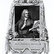 George Frideric Handel, German Baroque Poster