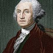 George Washington, First Us President Poster