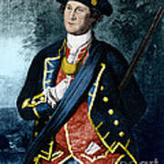 George Washington, Virginia Colonel Poster by Photo Researchers, Inc.