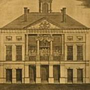 George Washingtons First Inauguration Poster