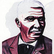 Georges Washington Carver Poster by Emmanuel Baliyanga