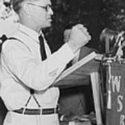 Georgia Governor Eugene Talmadge Poster