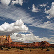 Georgia O'keeffe's Ghost Ranch Poster