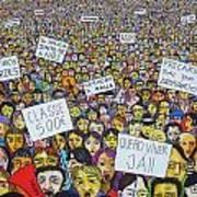 Geracao A Rasca Poster by Mario Fresco