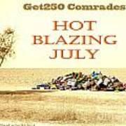 Get250 Comrades July Logo Poster
