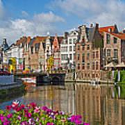 Ghent  Belgium Poster