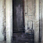 Ghost Girl In Hall Poster by Jill Battaglia