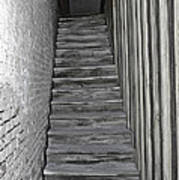 Ghost Town Stairs Bodie California Poster