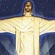 Giant Figure Of Christ Poster