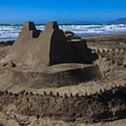 Giant Sand Castle Poster