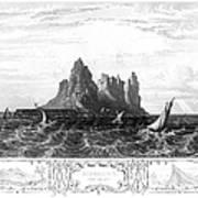 Gibraltar, 19th Century Poster