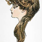 Gibson Girl, 1903 Poster