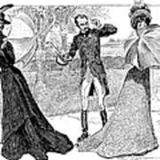 Gibson: Predicament, 1899 Poster