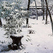 Gioji Temple In Snowing Poster