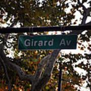 Girard Avenue In Philadelphia Poster