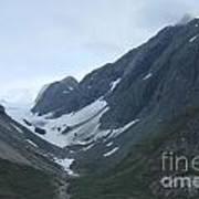 Glacier Bay Slopes Poster
