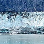 Glacier Face Poster