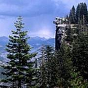 Glacier Point From Four Mile Trail Poster