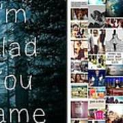 Glad You Came Poster
