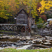 Glade Creek Grist Mill II Poster