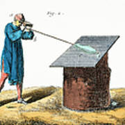 Glassblower, 18th Century Poster