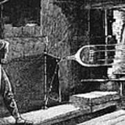 Glassworker, 19th Century Poster