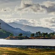 Glen Affric Panorama I Poster