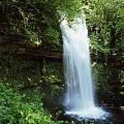 Glencar Waterfall, Yeats Country, Co Poster