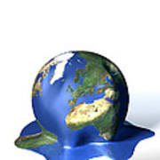 Global Warming, Conceptual Image Poster