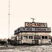 Go-karts - Wildwood New Jersey Poster