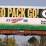 Go Pack Go Poster