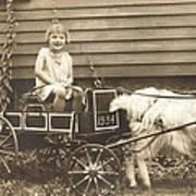 Goat Wagon Poster