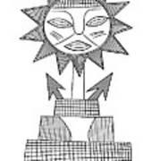 God Of Sun Poster by Michal Boubin
