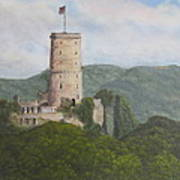 Godesburg Castle Poster by Heather Matthews