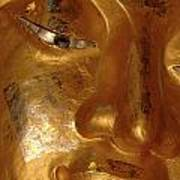 Gold Face Of Buddha Poster