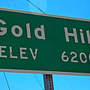 Gold Hill Poster