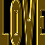 Gold Love Poster