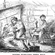 Gold Mining Camp, 1853 Poster
