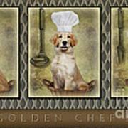 Golden Chef's Poster