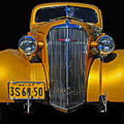 Golden Chevrolet Poster