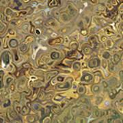 Golden Fluidity Poster