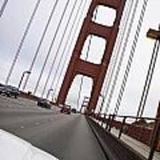 Golden Gate Bridge San Francisco California Usa Poster