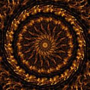 Golden Mandala 1 Poster