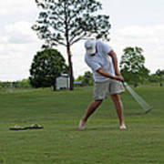 Golf Swing Poster