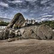 Goscar Rock Tenby 4 Poster