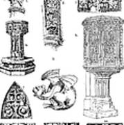 Gothic Ornament Poster
