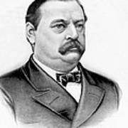 Governor Grover Cleveland - Twenty Second President Of The Usa Poster by International  Images