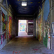 Graffiti Walkway Poster