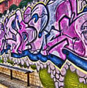 Graffitti-lets Gambl Make Dollars Poster