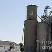 Grain Processing Facility In Shirley Illinois 3 Poster